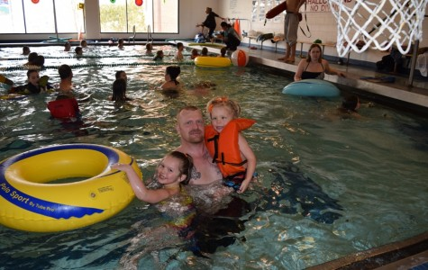 Pool's grand re-opening makes a splash