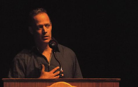 Junger speaks on war and community