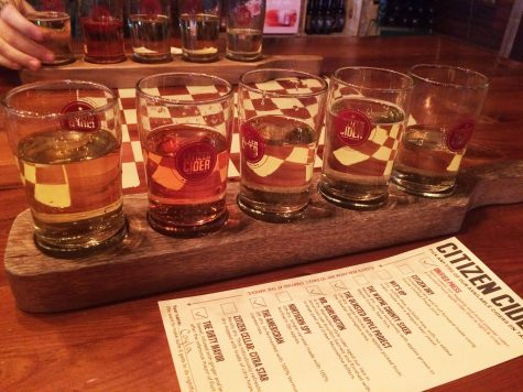 A cozy tasting at Citizen Cider