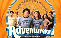 """Throwing back to hairspray and classic rock in """"Adventureland"""""""