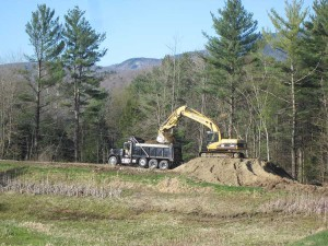 Lower Pond rehab work begins