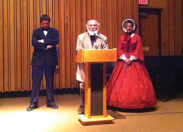 Ellsworth lecture brings Civil War to life
