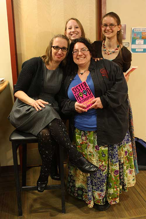 Feminist+author+Deborah+Siegel+speaks+at+JSC
