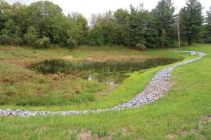 Lower Pond restoration finished