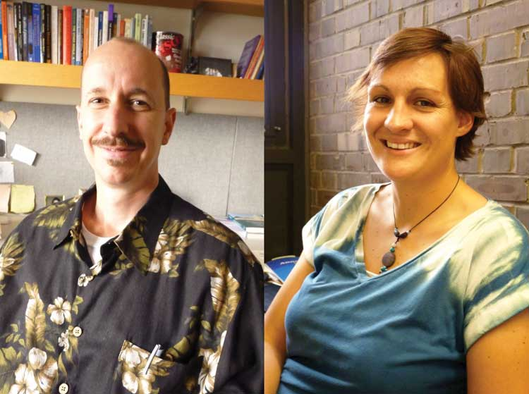 David Plazek and Amy Welch