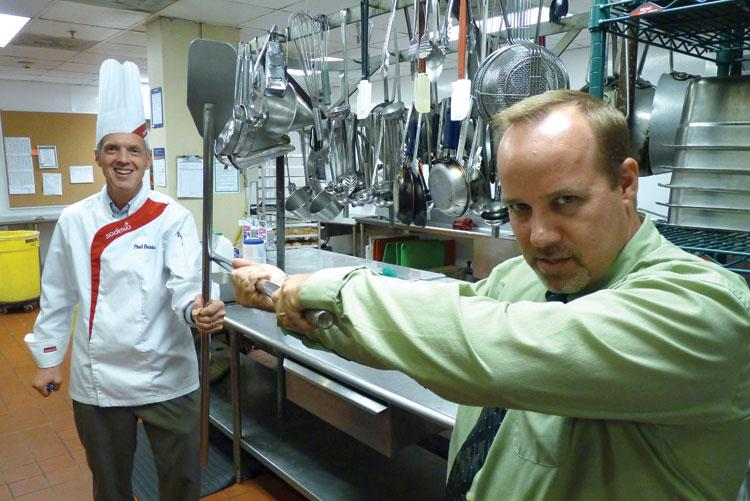 At home on the range: Sodexo takes over