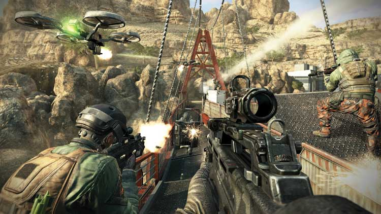 """The future is lame in """"Black Ops 2"""""""