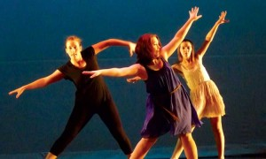 Fall Dance Club performance shines, when it ain't rainin'
