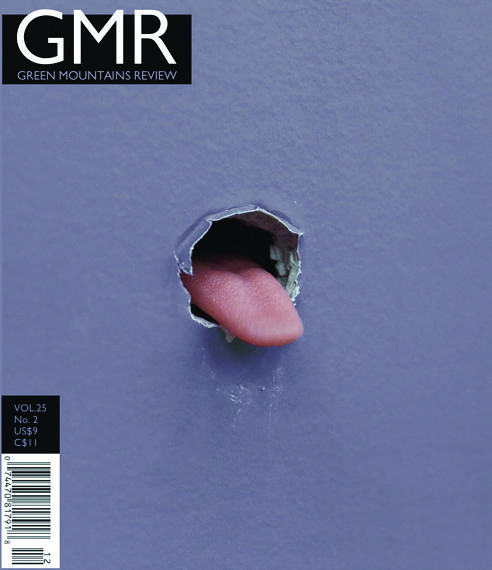 The winter 2012 issue of the Green Mountain Review, one of seven literary journals selected by the new Poet Laureate for the Library of Congress