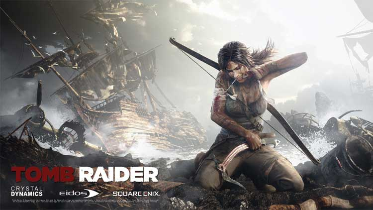 Lara+Croft+fixes+her+wounds%2C+just+like+%22Tomb+Raider%22+fixes+the+franchise%27s
