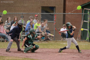Badgers sweep Eagles in a NAC Doubleheader