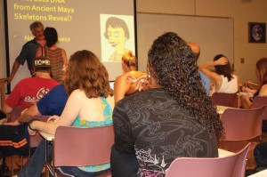 Mayan bone mystery probed in EHS series