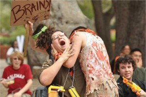 Humans vs. Zombies: Fight of the living dead