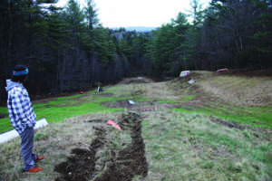 Work begins on  terrain park rehab