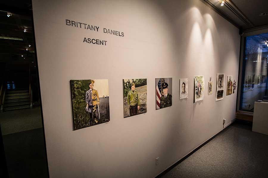 Brittany Daniels' BFA exhibit
