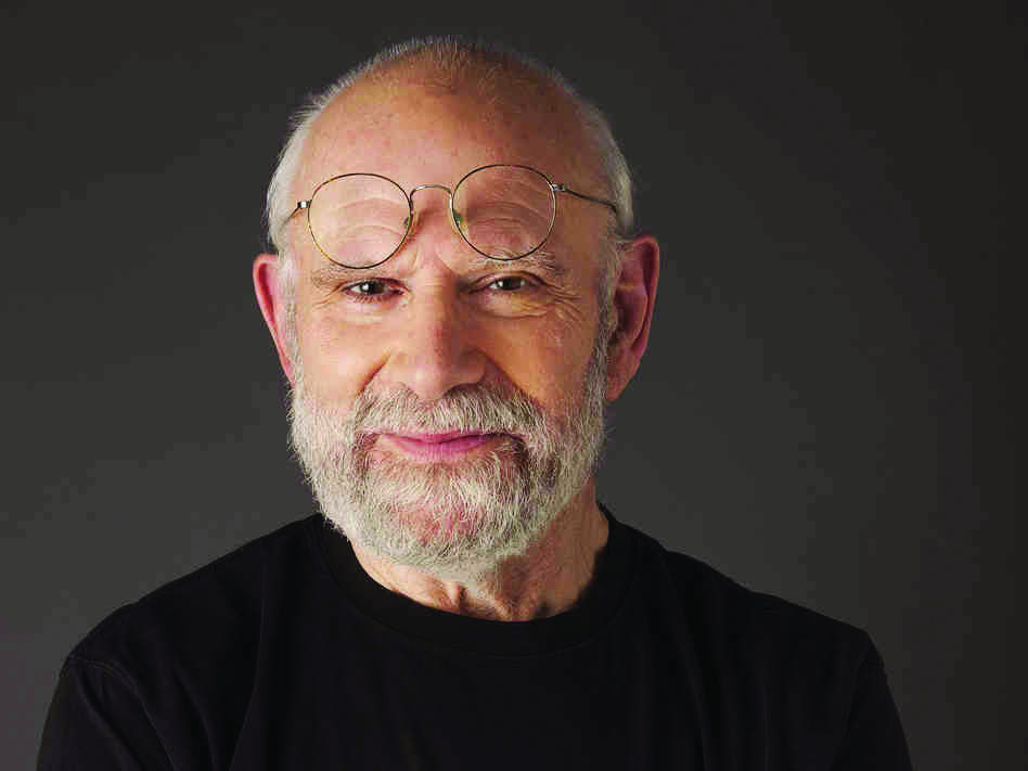 It's no hallucination: this is author Oliver Sacks