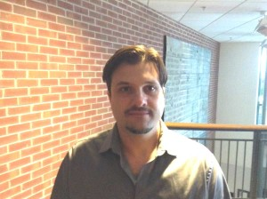 Professor Henrique Cezar of the business and economics department at Johnson State College
