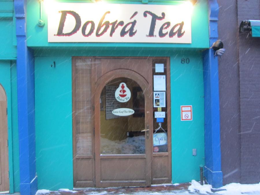 Dobr%C3%A1+Tea%27s+Bank+Street+entrance