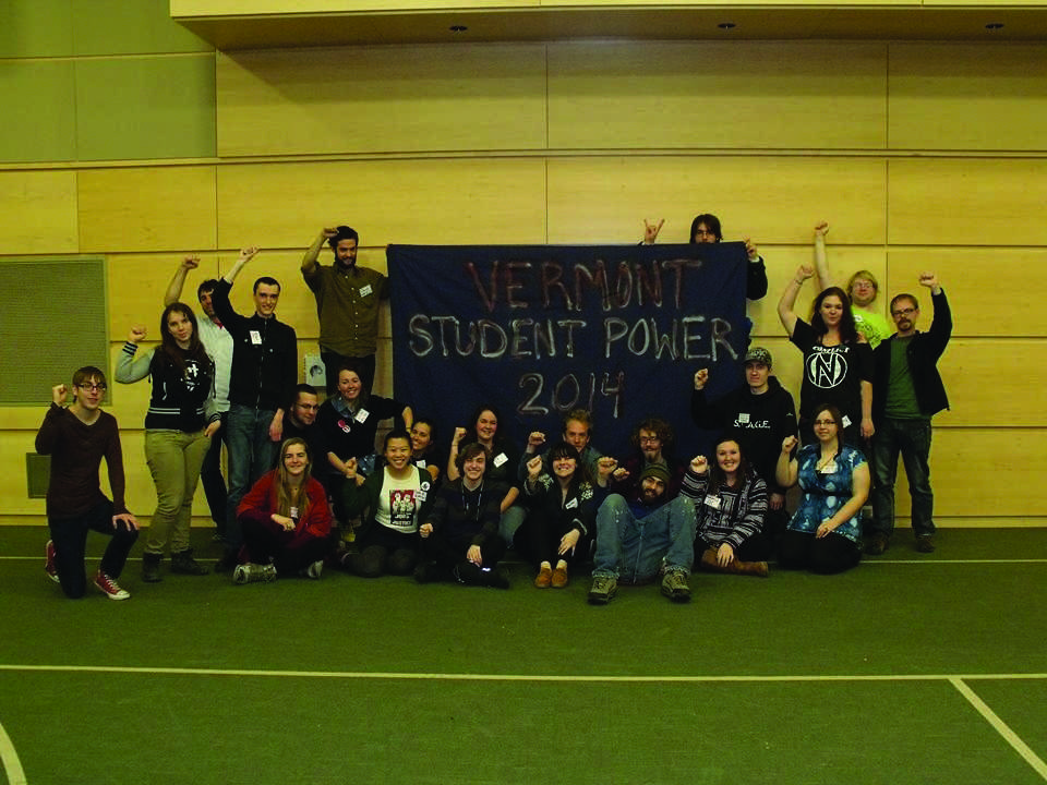 Students+from+across+Vermont+gathered+in+Randolph+for+a+day+of+activism+workshops