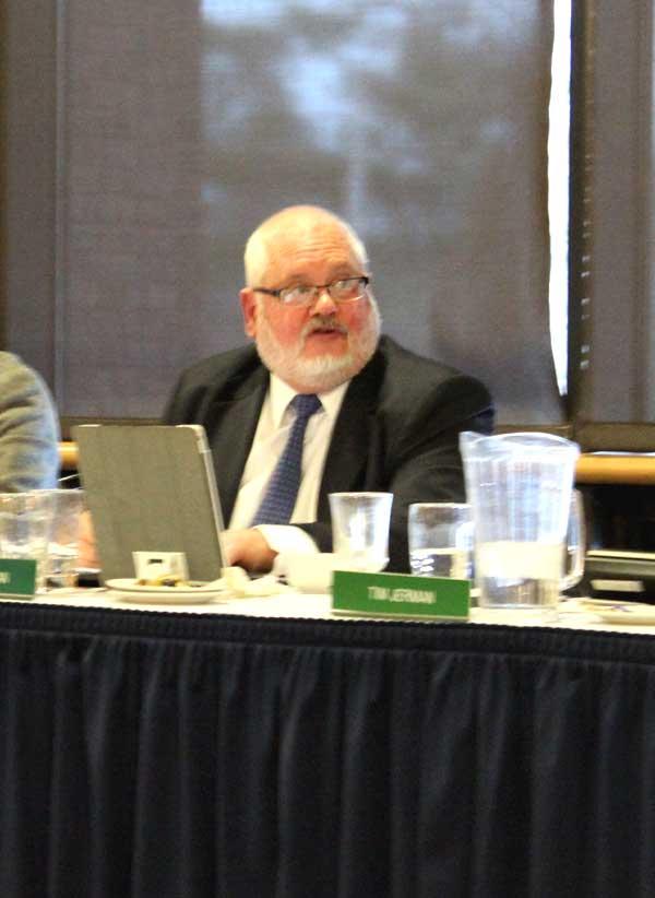 VSC Chancellor Tim Donovan