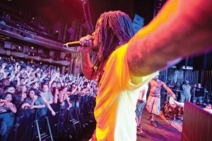 Waka Flocka Flame lights up B-Town