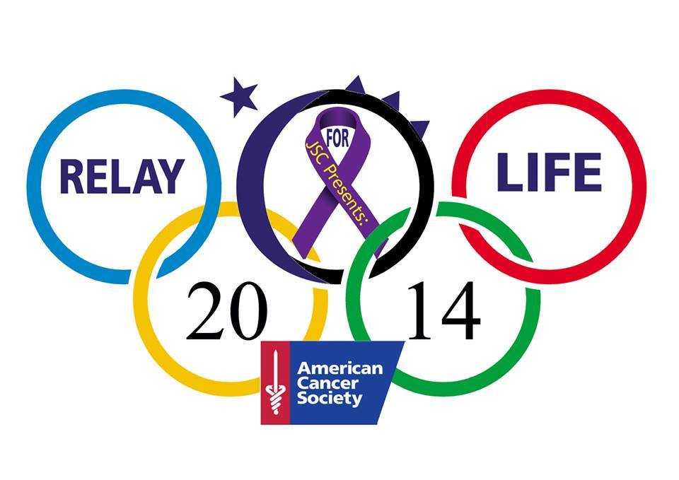 This year's relay theme is the Olympics