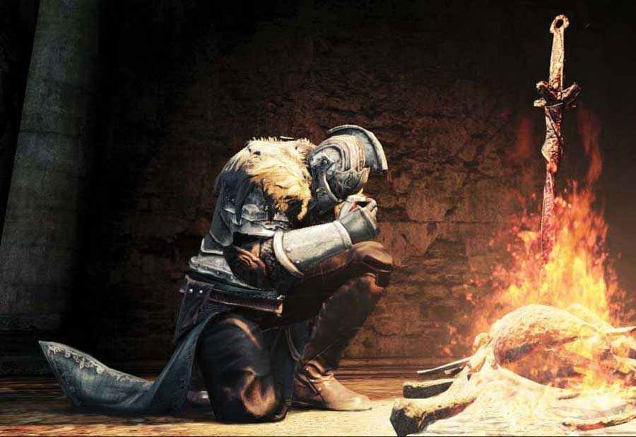 A+moment+from+%22Dark+Souls+II%22