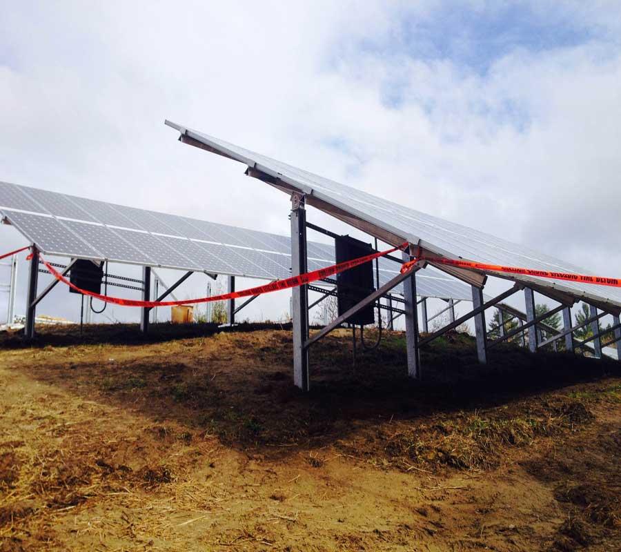 Solar installation nears completion