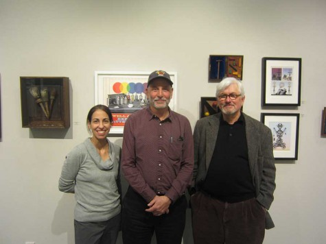 Powell and Tomashow's collaborative collage exhibit  at Julian Scott