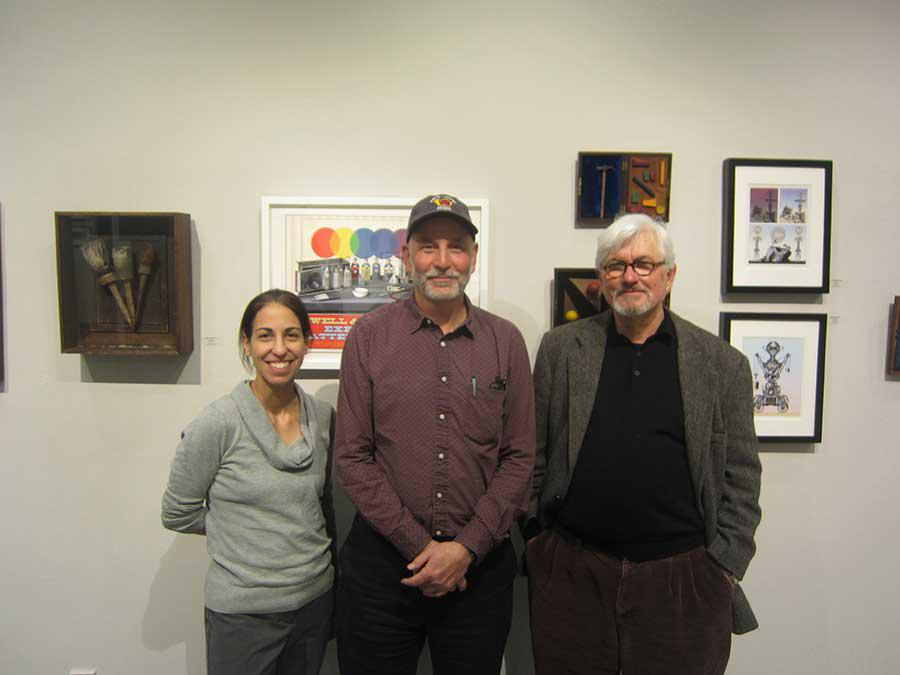Left to right: Leila Bandar, Peter Tomashow, David Powell