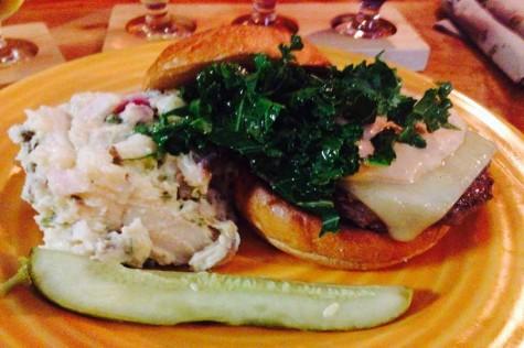 Big, gooey, juicy, salty, savory: the burger