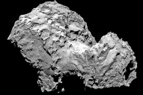 The Rosetta comet