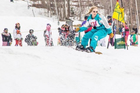 Jay Peak's annual retro day races down the slopes