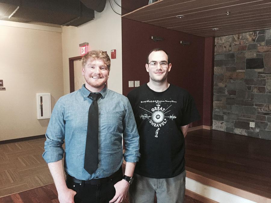Travis LeClair and Josh Lemay