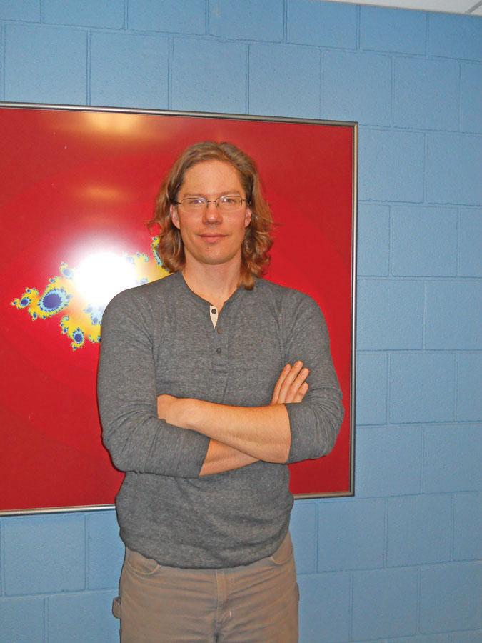 Assistant Professor of Mathematics Greg Petrics