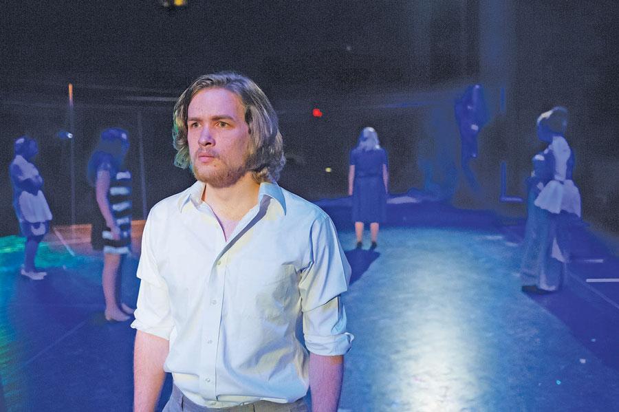 Thomas Gunn as Orpheus