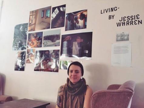 JSC alumna exhibits artwork
