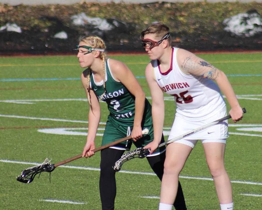 Women's lacrosse earns first win of the season