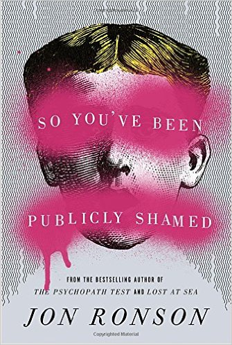 Book explores the issue of public shaming