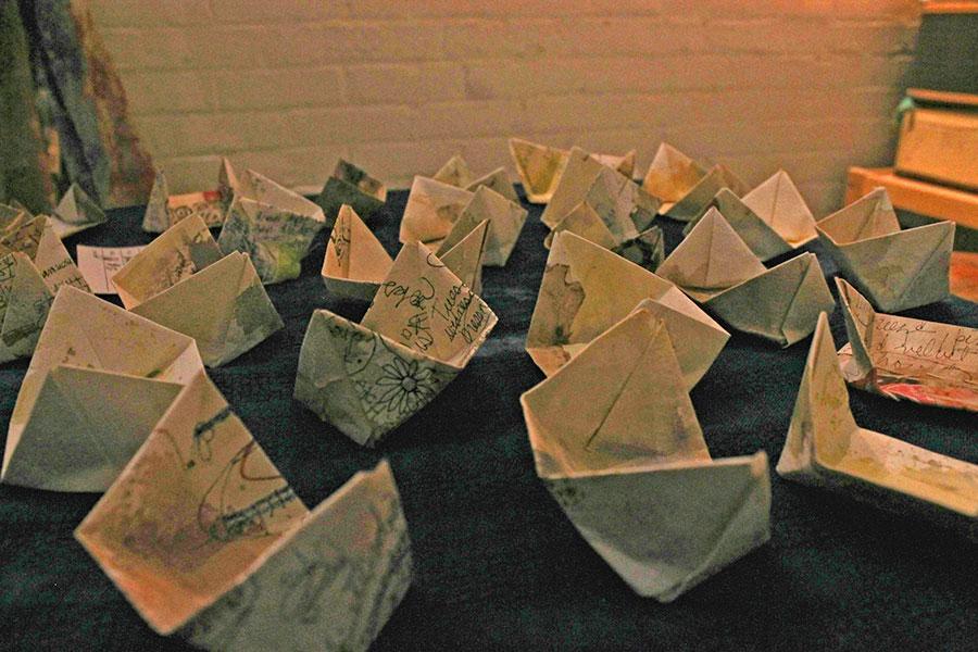 """""""Boats"""" by Elizabeth Bunsen"""