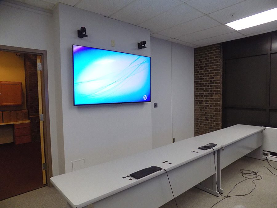 The connected classroom setup