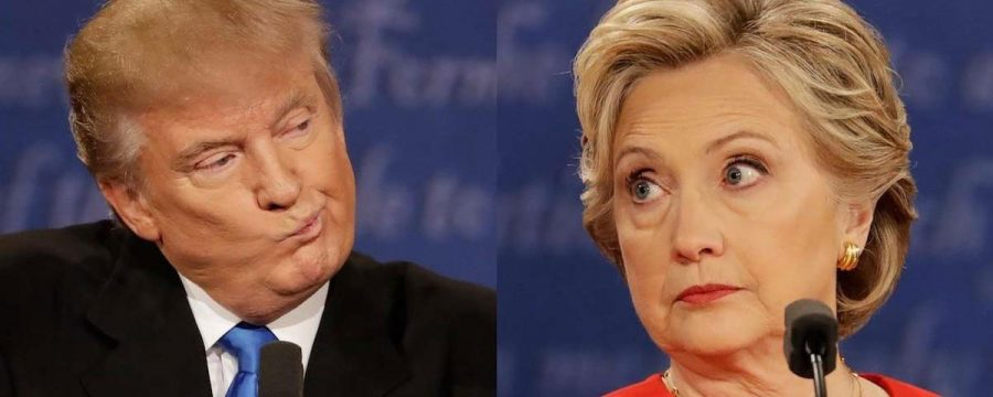 Trump faces Clinton in first presidential debate