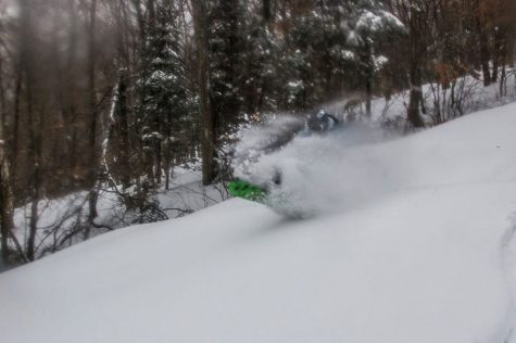 Pre-season Jay Peak powder