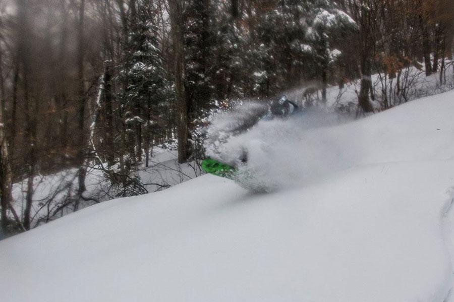 Pre-season Jay Peak powder