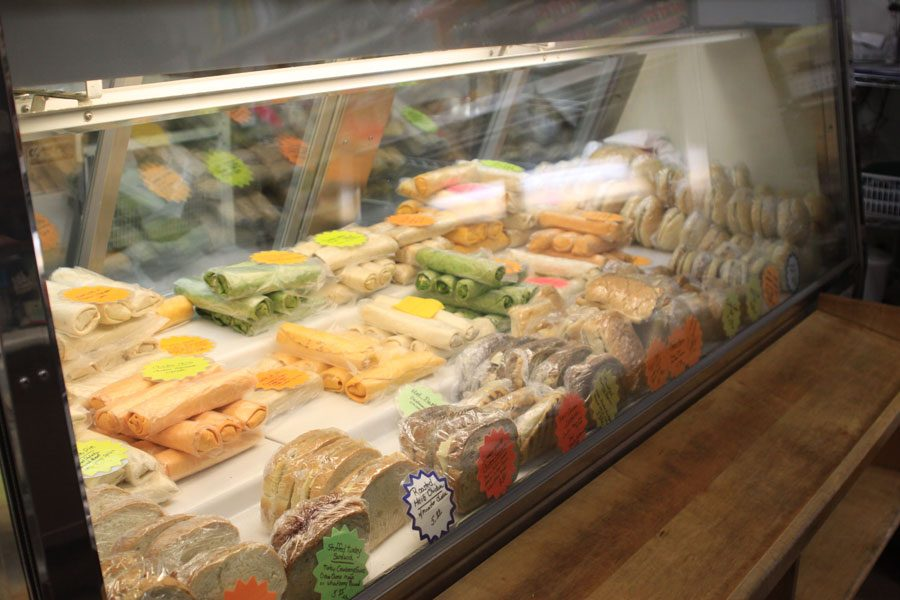 Deli case offerings