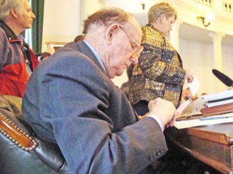 Doyle reflects on senate career