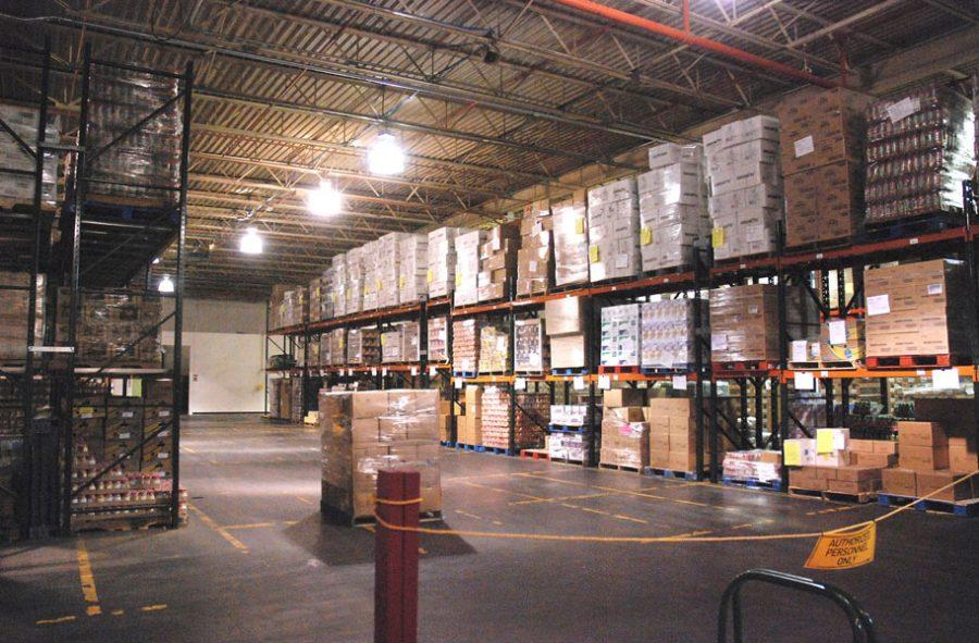 Vermont Food Bank warehouse in Barre