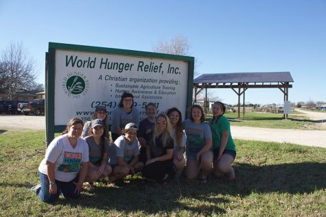 JSC students toil in the soil of Waco, Texas