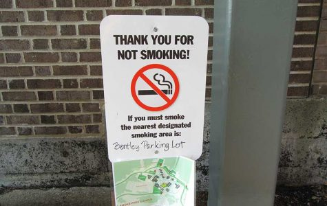 Get your butt out of here: Smokers feel the squeeze