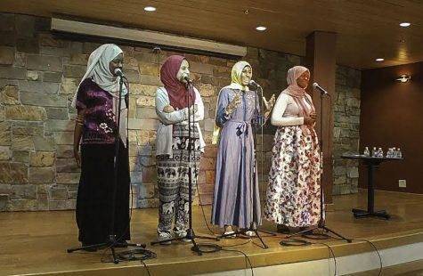 Slam poetry group celebrates diversity